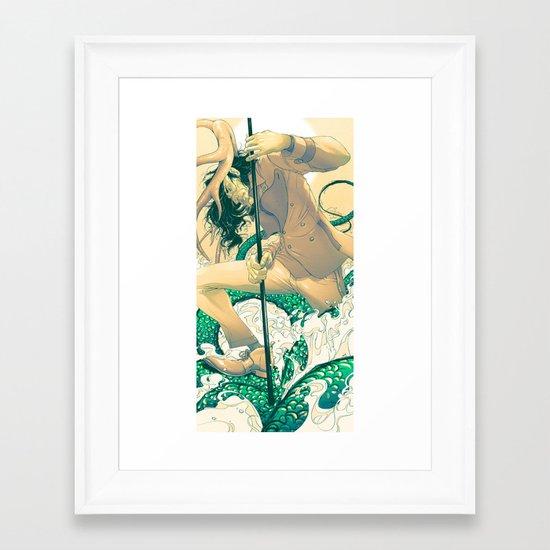 Herne the Hunter Framed Art Print