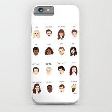 Cutie Pies of Pawnee Slim Case iPhone 6s