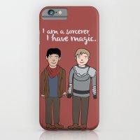 Merlin And Arthur Magic iPhone 6 Slim Case