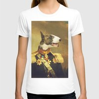 General Bully Womens Fitted Tee White SMALL