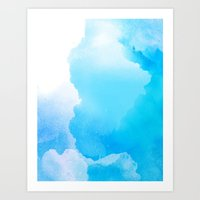 Cloud Blue Art Print