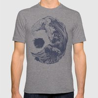 Swell Mens Fitted Tee Tri-Grey SMALL