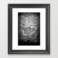Rivers of India Framed Art Print