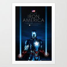 IRON AMERICA 9/11 Art Print