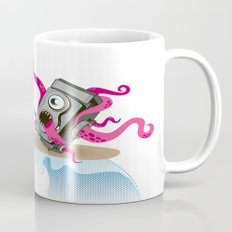 Monster Camera Surfing Mug