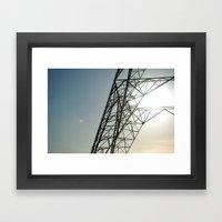 sky 2 Framed Art Print