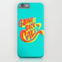 iPhone & iPod Case featuring Going Back to Cali by Chris Piascik