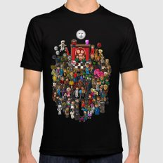 Super Mighty Boosh Black Mens Fitted Tee SMALL