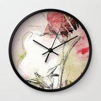 pink splendor Wall Clock