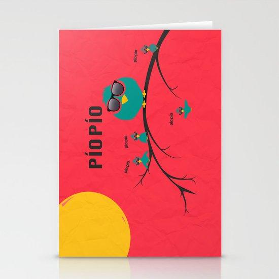 pío pío, PÍO PÍO Stationery Card