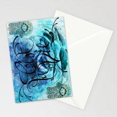 Turquoise Hamsa Stationery Cards