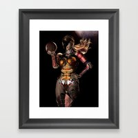 It's Only Smoke And Mirr… Framed Art Print