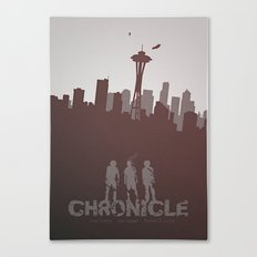 Chronicle (2012) minimal poster Canvas Print