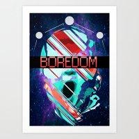 Space Baby Art Print