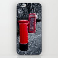 Red is the Colour iPhone & iPod Skin