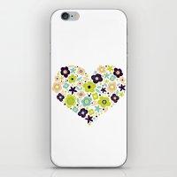 Heart of Pollen iPhone & iPod Skin