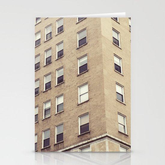 urbanism. Stationery Card