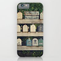 iPhone & iPod Case featuring Mailboxes by Around the Island (Robin Epstein)