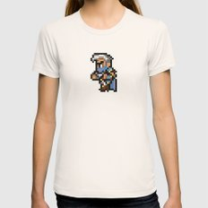 Final Fantasy II - Edge Womens Fitted Tee Natural SMALL