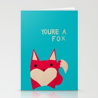 You're A Fox Stationery Cards