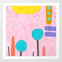 If you really need a touch of  Pink Art Print