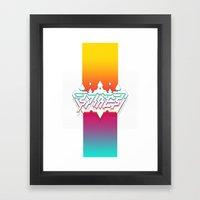 Spires : Crystyl Cystlys Spectrym  Framed Art Print