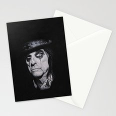Alice Cooper Portrait. Stationery Cards