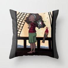 Yarr Throw Pillow