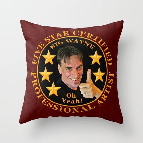 Five Star Certified Throw Pillow