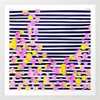 Unhinged Art Print