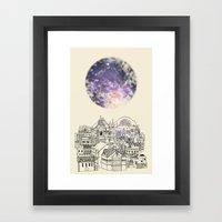 Cincinnati Fairy Tale Framed Art Print