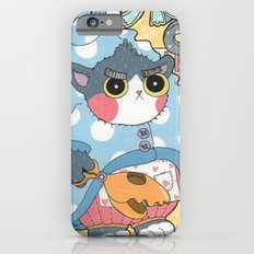 Aqua cat_Puno iPhone 6 Slim Case