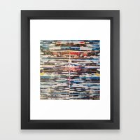 STRIPES 24 Framed Art Print