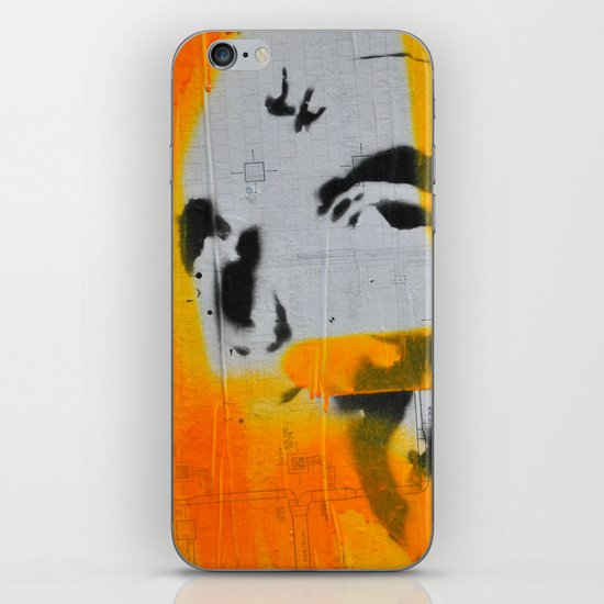 Graffiti iPhone & iPod Skin
