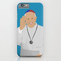 iPhone & iPod Case featuring Pope Francis - San Lorenzo version by Lucho Margolin