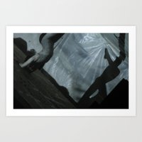 Contortion II Art Print