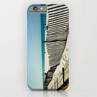 iPhone & iPod Case featuring Rippling Fence by Bren
