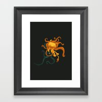 The Magical Lion Framed Art Print