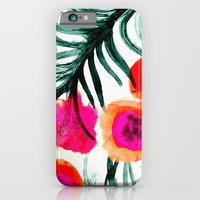 iPhone & iPod Case featuring Olivia Flower by Crystal ★ Walen
