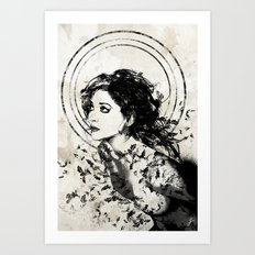 Little Whispers Art Print