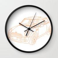 My Mini Cooper Wall Clock