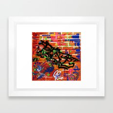 """PEACE"" Framed Art Print"