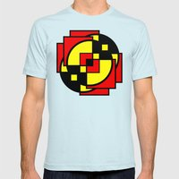 Morph The Power Mens Fitted Tee Light Blue SMALL