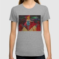 Buffalo '66 Womens Fitted Tee Athletic Grey SMALL