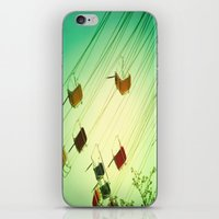 Fly Around iPhone & iPod Skin