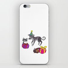 Pet party iPhone & iPod Skin