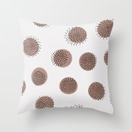 Dots Over Dots Throw Pillow