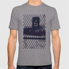 Six  Mens Fitted Tee Athletic Grey SMALL