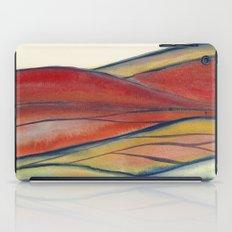 Watercolor abstract landscape 28 iPad Case