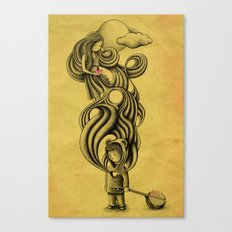 Little Lion Man Canvas Print